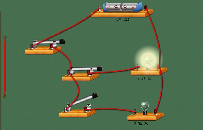 电学基本上是每年中考必考的考点,根据实物来连接电路图的考题,是中考中常出现的题型。既然电路图如此重要,我们应该如何攻克难关呢? 一般电路图的考题大概分为以下几个方面:1、看实物画出电路图。2、看图连元件作图。3、根据要求设计电路。4、识别错误电路,并画出正确的图。这些既是电学考试的重点也是难点,随着教学软件的不断进步,所有这些问题也可以通过软件来完成,下面就通过NB物理实验软件来分析一下这几种题型。  1、看实物画出电路图。看实物画电路图,关键是在看图,图看不明白,就无法作好图。中考基本不会考到混联,所以